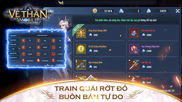 Tải Game Vệ Thần Mobile Online 2020 Cho Điện Thoại Android, iPhone