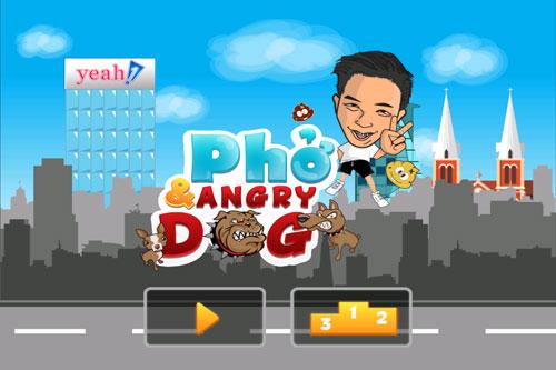 Tải Game Phở & Angry Dog - Game Chó Rượt Đuổi Phở