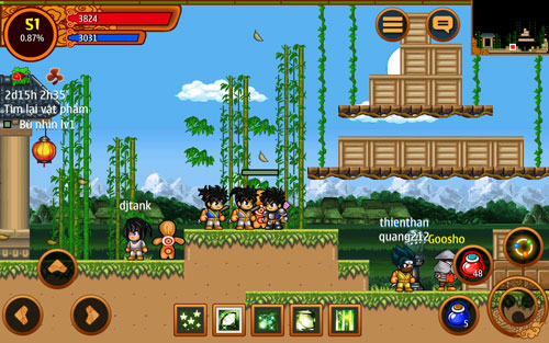 Tải Game Ninja School Online Cho Android, iPhone