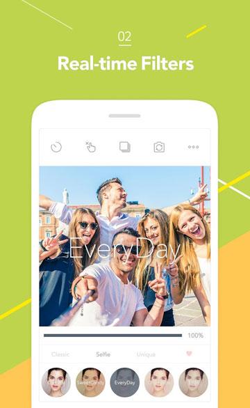 Tải Candy Camera - Ứng Dụng Chụp Ảnh Cho Android, iPhone Tốt Nhất