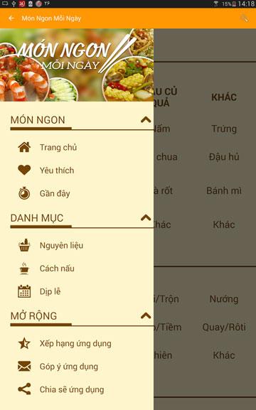 Tải Ứng Dụng Món Ngon Mỗi Ngày Hay Nhất Cho Android