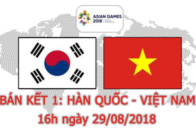 Cách xem trận bán kết Việt Nam - Hàn Quốc ASIAD 2018 trên điện thoại