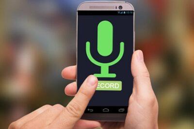 Cách ghi âm bằng điện thoại cho chất lượng âm thanh tốt nhất
