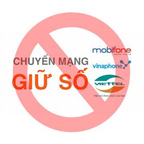 Cách hủy chuyển mạng giữ số Viettel, Mobifone, Vinaphone