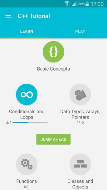 Tải Ứng Dụng Học Lập Trình C++ Cho Điện Thoại iPhone Android