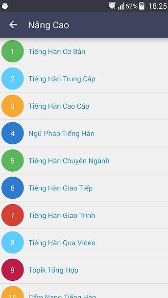 Tải Ứng Dụng Học Ngữ Pháp Tiếng Hàn Giao Tiếp Cho Điện Thoại Android