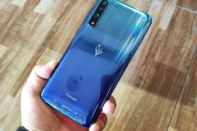 Các dòng điện thoại chạy hệ điều hành VOS của Vingroup