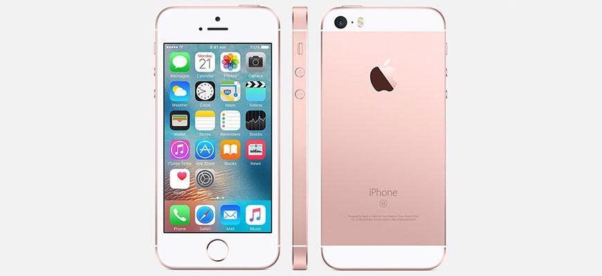 Làm thế nào để phân biệt iPhone SE và iPhone 5s