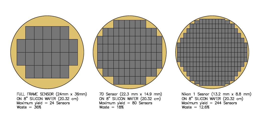 Tại sao máy ảnh cảm biến Full Frame CMOS được ưa chuộng?