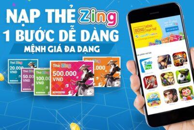 9 cách mua thẻ Zing online thanh toán nhanh, giá ưu đãi