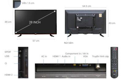 4 tivi giá rẻ dưới 3 triệu 32 inch đa năng tốt nhất 2020