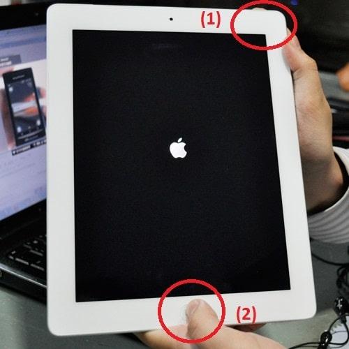 Cách tắt nguồn iPad khi bị treo qua 3 bước cực nhanh ai cũng làm được