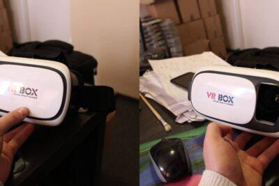 Cách sử dụng VR Box xem phim 3D và chơi game thực tế ảo