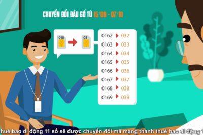 Cách đổi sim 11 số thành 10 số Viettel trên danh bạ điện thoại Android