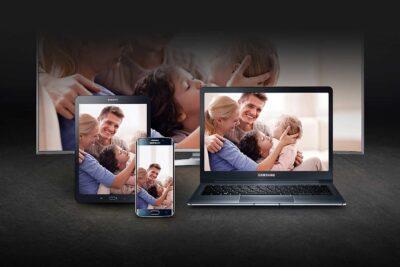 Điều khiển tivi Samsung bằng điện thoại Samsung, iPhone