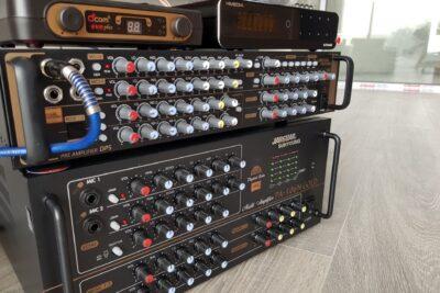 10 Amply Karaoke chuyên nghiệp đa âm vực giảm ồn micro giá từ 2tr
