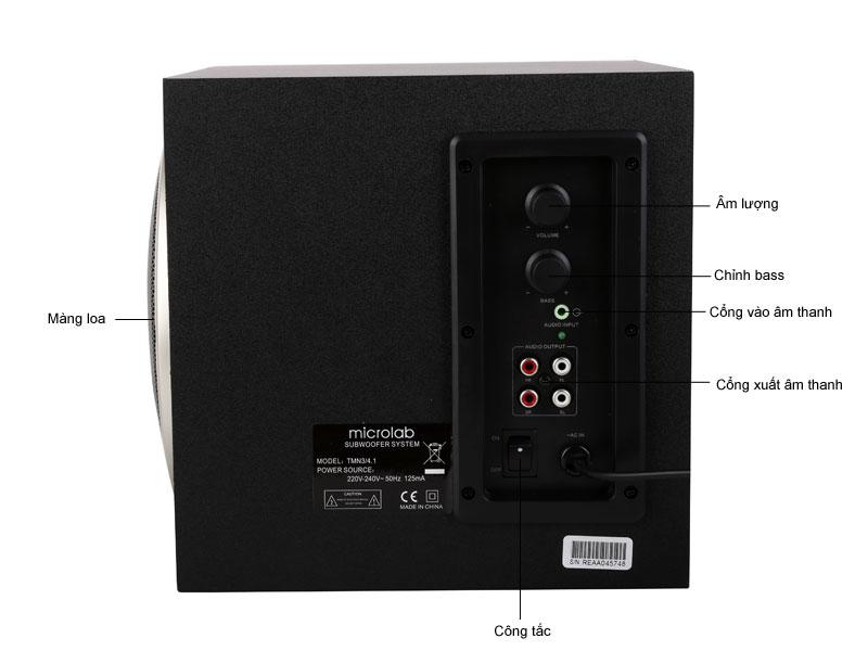 Loa máy tính Microlab M900 2.1