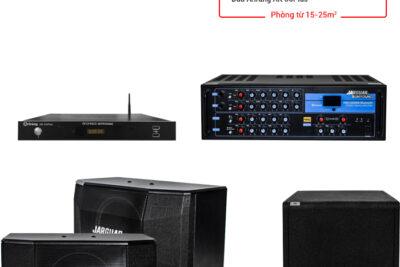 Top 10 dàn karaoke cao cấp để kinh doanh phòng rộng từ 20 tới 40m2