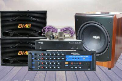 15 dàn âm thanh cao cấp chất lượng cao cho phòng karaoke giá từ 60tr