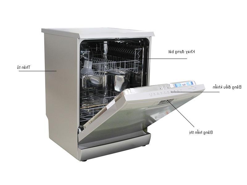 Máy rửa chén Electrolux ESF5511LOX được thiết kế đơn giản, tinh tế
