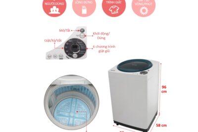 Nên mua máy giặt nào dưới 5 triệu: Sharp, Toshiba, Panasonic, Aqua hay Midea