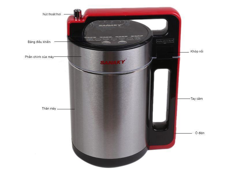 Máy đa năng chuyên làm sữa đậu nành Sanaky SNK-911N 900W