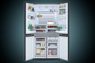 Đánh giá tủ lạnh side by side Sharp có tốt không? 5 lý do nên mua dùng