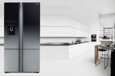3 mẫu tủ lạnh Hitachi side by side, ngăn đá trên, dưới mới nhất 2020