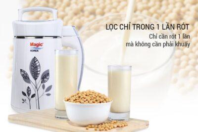 Đánh giá máy làm sữa đậu nành Magic Korea có tốt không chi tiết từ A-Z