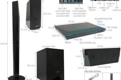 So sánh dàn âm thanh Sony và Pioneer theo 6 tiêu chí đánh giá