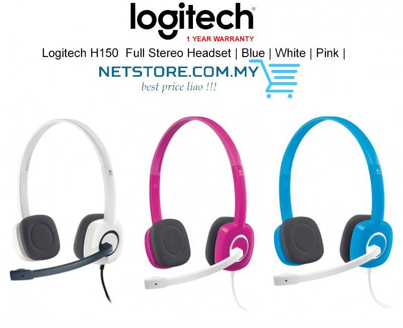 Tai nghe chụp tai Logitech H150 thiết kế siêu tiện lợi