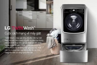 10 máy giặt LG 10kg cửa ngang, cửa trên tốt nhất giá rẻ chỉ từ 7tr
