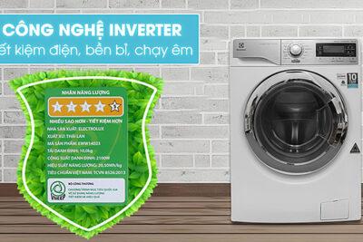 6 máy giặt Electrolux 10kg tốt nhất tiết kiệm điện nước giá từ 11tr