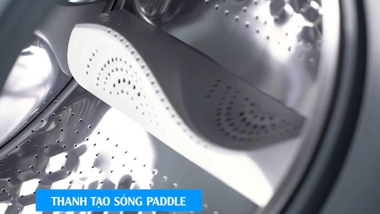 Thanh giặt Paddle tạo hiệu ứng sóng nước