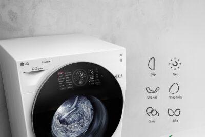 Hướng dẫn sử dụng máy giặt LG FC1409S3W chi tiết các chức năng chính