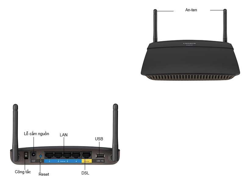 Router Wifi Linksys E1700