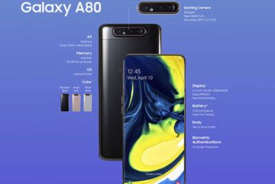 8 tiêu chí so sánh Samsung Galaxy A80 và A70 nên mua loại nào tốt hơn