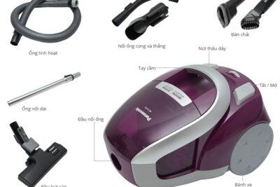 Hướng dẫn cách sử dụng máy hút bụi Panasonic và vệ sinh sạch như mới