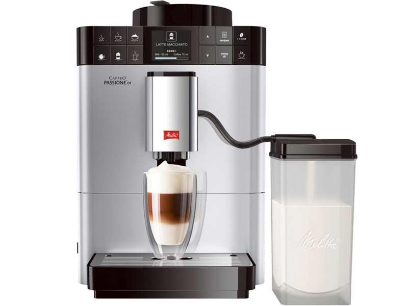 Dòng máy pha cà phê với sữa cho bạn thỏa thích sáng tạo theo sở thích của mình