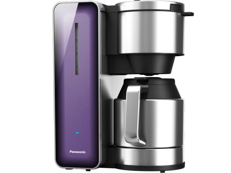 Máy pha cà phê Panasonic với thiết kế nhỏ gọn, màu sắc trang nhã