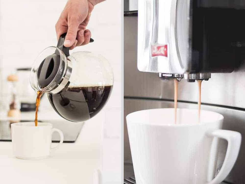 Nên dùng máy pha cafe loại nào tốt nhất