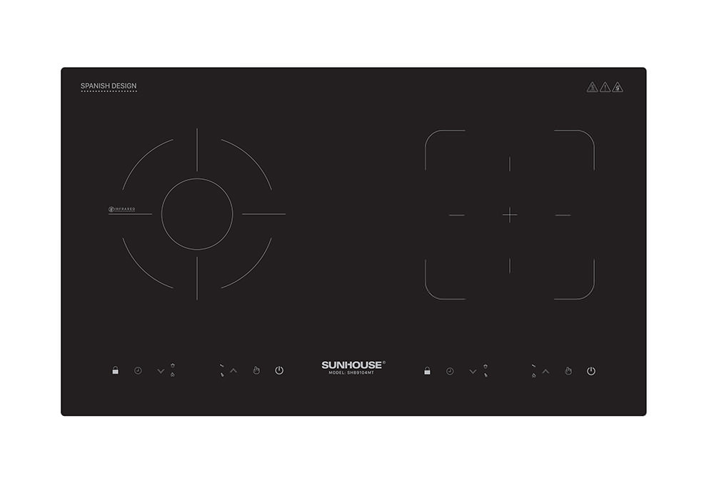 Thiết kế sang trọng của bếp điện từ Sunhouse SHB9104MT