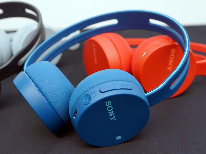 Tai nghe Sony bluetooth WH-CH 400/LZ với màu sắc trẻ trung cùng công nghệ hiện đại