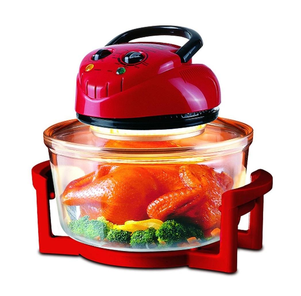 Lò nướng Homepro sử dụng chất liệu thủy tinh giúp người dùng dễ dàng quan sát quá trình diễn ra trong lò nướng