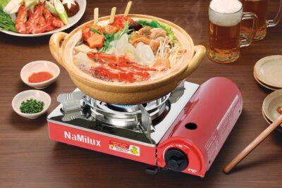 14 bếp ga mini Namilux tốt bền công suất vừa ít tốn ga giá từ 200k