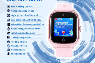 6 đồng hồ định vị trẻ em chống nước IP67 tốt bền nhất giá từ 1tr