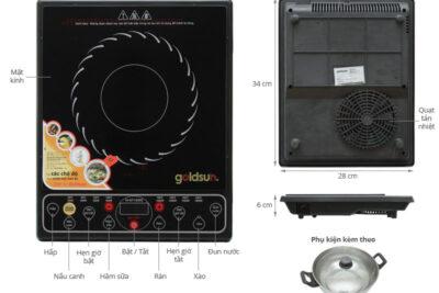 Đánh giá bếp điện từ Goldsun tốt không? 6 lý do nên mua dùng