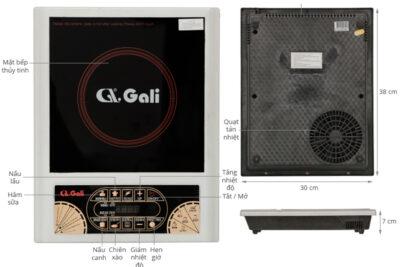 Đánh giá bếp điện từ Gali có tốt không, giá bao nhiêu, cách sử dụng
