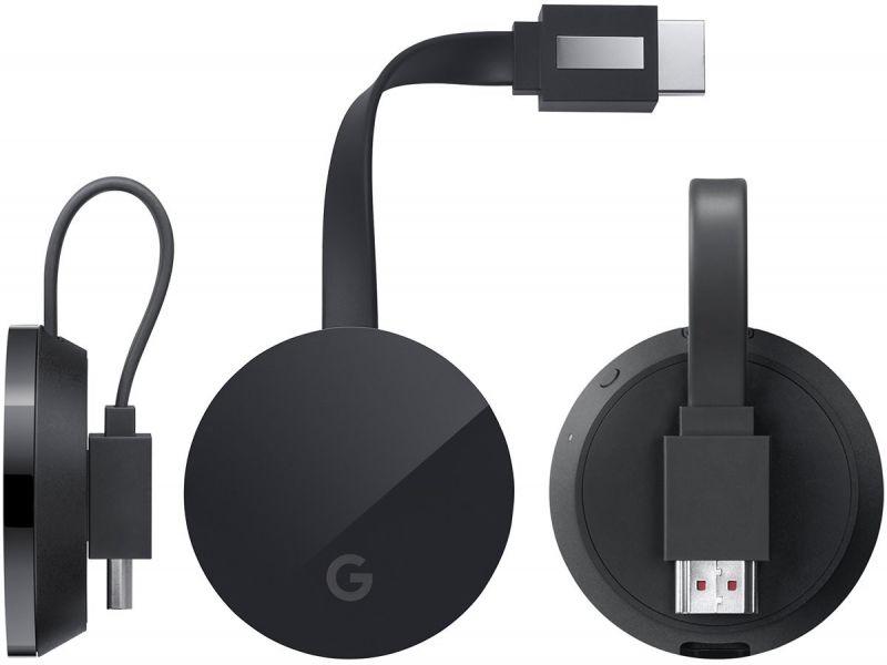 Google Chromecast 3 đầy đủ trang thiết bị kết nối