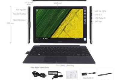 Đánh giá laptop Acer Switch Alpha 12 tốt không, giá bán, mua ở đâu